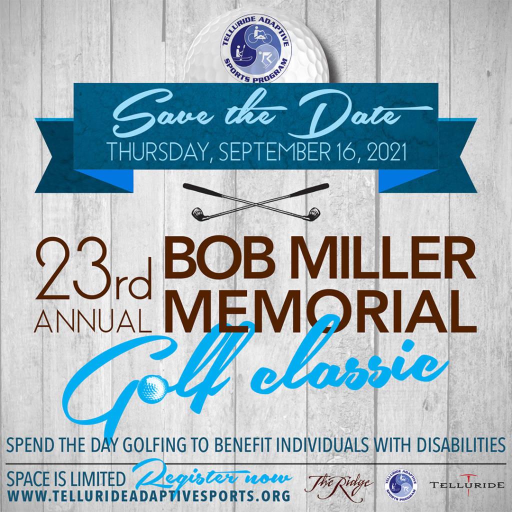 23rd Annual Bob Miller Golf Tournament